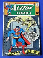 ACTION COMICS #379 COMIC BOOK Superman 1969 DC SILVER AGE ~ FN+