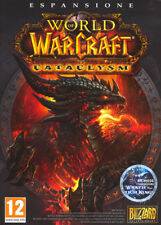 Videogame World of Warcraft - Cataclysm PC