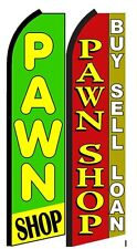 Pawn Shop King Size Polyester Swooper Flag pk of 2