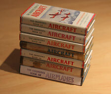 Observer's Book of Aircraft - 1945, 54, 55, 56, 57, 58, 59 - 7 Book Bundle