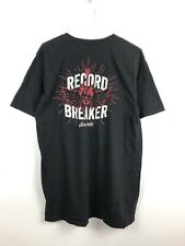 Vintage Music Band Guitar Logo Graphic T-shirt Retro Top Mens Size Large