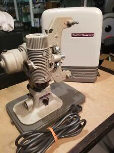 Bell & Howell 8mm Design 122 LR Reel Film Projector - Working w/ Good Bulb