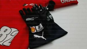 Sebastian Vettel Race gloves 2019 Replica Racing Gloves Karting Gloves F1 Gloves