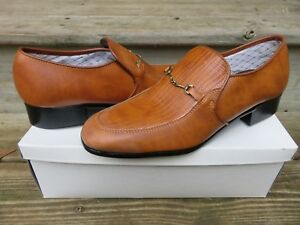 NEW JB Slip-on Loafer Dress Shoes Size 10 M New Old Stock Leather