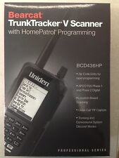 NEW* UNIDEN BCD436HP P-25 PHASE I & II TDMA DIGITAL SCANNER Free Cable&Software