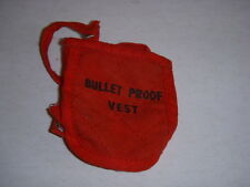 VINTAGE GI JOE, BULLET PROOF VEST, 1960'S, HASBRO, ORIGINAL, GREAT CONDITION!