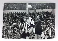 RARE Jim Montgomery Sunderland 1973 Signed Photo + COA AUTOGRAPH