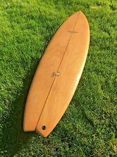 "Absolutly Beautiful Wood Veneer 6'6"" Randy French Surftech Surfboard"