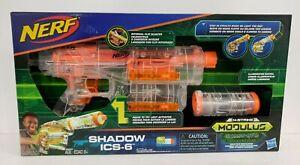 NERF N-Strike Shadow ICS-6 Modulus Ghost Ops Light Up Gun