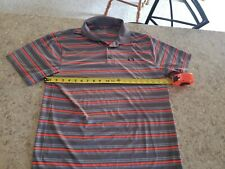 Men's Under Armour Polo Heat Gear Sz L Loose fit Outstanding condition