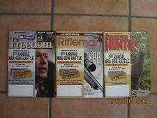 September 2015 American Rifleman, American Hunter & America's 1st Freedom -all 3