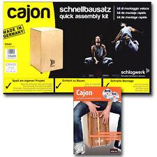Schlagwerk CBA 2S My Cajon Bausatz + Cajon Schule