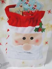NEW kids SANTA FACE CHRISTMAS PRESENT GIFT SACK 72 x 60cm