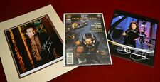 Matted STEPHEN FURST & CLAUDIA CHRISTIAN Signed AUTOGRAPH Babylon Five COMIC coa