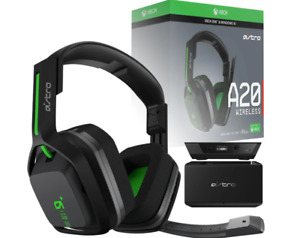 Astro A20 Wireless Over the Ear Gaming Headset - Black/Green Headphones