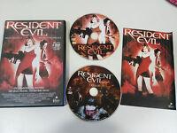 RESIDENT EVIL 2 X DVD + EXTRAS ESPAÑOL ENGLISH MILLA JOVOVICH