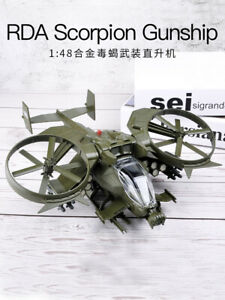 Avatar Scorpion Helicopter Aircraft Model Alloy Simulation Aircraft Model