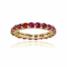Band Yellow Ruby Fine Rings