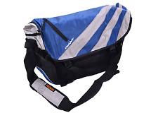 Giant Mission Nylon Laptop Messenger Side Shoulder Commuter Bike Bag Grey/Blue