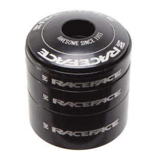 Race Face Headset spacer kit with top cap, aluminum - black