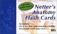 Netter Basic Science: Netter's Anatomy Flash Cards by John T. Hansen (2002, Car…
