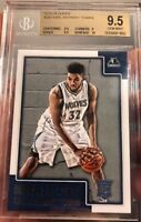 Karl Anthony Towns Rookie Card 2015 NBA Hoops BGS 9.5 Gem Mint W/10 Sub