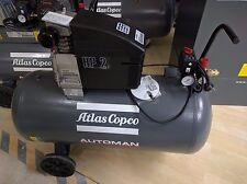 COMPRESSORE AD ARIA ATLAS COPCO 90 LT 220V 2 HP 240 LT/MIN AUTOMAN - 100 lt