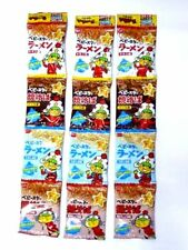 Baby Star Ramen dried noodle snack junk food 4 flavors x 3 sets New Japan F/S