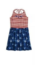 So Girls Stars & Stripes Americana Dress Size Extra Large 14 New with Tags