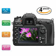4x LCD Screen Protector Film for Sony Alpha SLT A33 A35 A55 Digital Camera