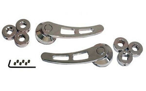 Hot Rod Rat Rod Street Rod Chrome Door Handles - Universal - Ford, Chevy, Dodge