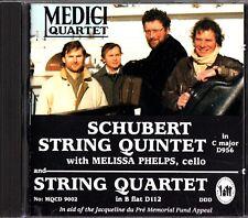 MEDICI QUARTET-Schubert: String Quintet In C With Melissa Phelps (Cello) 1993 CD