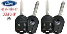 2 Ford Keyless Remote Key 4B w Remote Start 80 Bit OEM CHIP USA Seller A+++