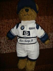 BMW Williams F1 Team Formula 1 Racing Teddy Bear