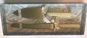 Classic Treasure Masters 2 Piece Wedding Cake Server Set Ivory Pearl W311 USA