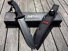 MTech USA MT-20-57 Tactical Hunting SAWBACK BOWIE Knife - FAST Dispatch!