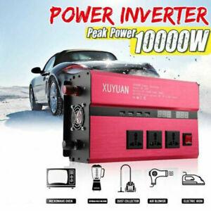 10000W Power Inverter DC 12V to AC 220V Modified Sine Wave Converter Car solar