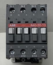 Abb Contactor A40 30 10 A403010 Nos