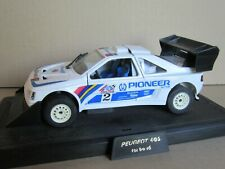 903M Majorette France Peugeot 405 T16 # 2 Montée Pikes Peak 1988 Vatanen 1:24