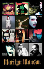 "MARILYN MANSON album discography magnet (4.5"" x 3.5"")"