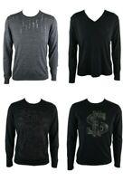John Richmond Herren Langarmshirt Shirt Pullover Sweatshirts Sweat Shirt