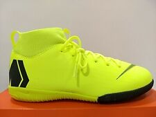 Nike Junior SuperflyX 6 Academy Indoor Soccer Shoes Volt/Black