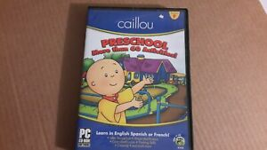 Caillou: Preschool More Than 60 Activities!  [PC CD-ROM Software]