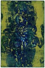 "YOSHI TAKAHASHI 高桥 义 治 ""Composition"" HAND SIGNED ETCHING JAPANESE - GERMAN"
