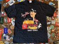 vtg Davey Allison NASCAR Winston Cup Men's T-Shirt SZ XL  Made In USA NWOT