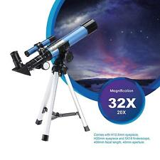 400x40mm Astronomical Telescope With Tripod Xmas Gifts for Kids Stargazing