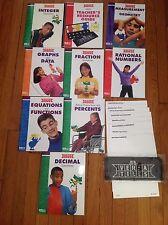 VERSA TILES BY ETA CUISENAIRE PLU 8 books, 7 GRADE