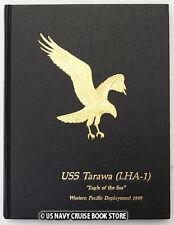 USS TARAWA LHA-1 1989 WESTPAC CRUISE BOOK