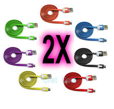Micro USB Color Data Sync Charger Cable Samsung BlackBerry HTC Nokia Motorola