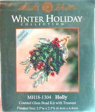 "Mill Hill point de croix perles Kit Noël ""Holly"" 18-1304"